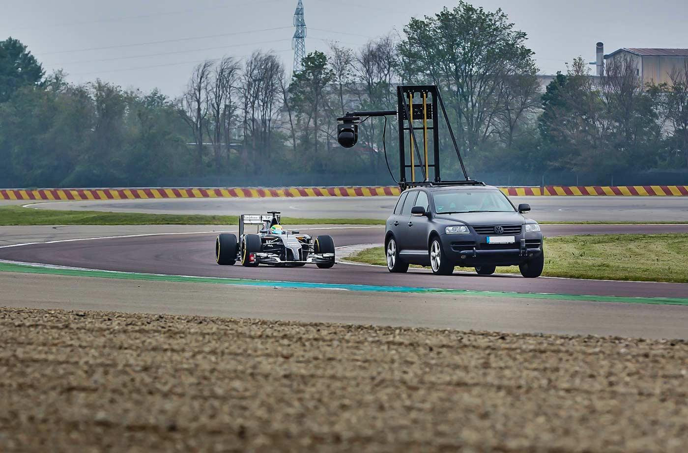Sauber F1 Shotver System
